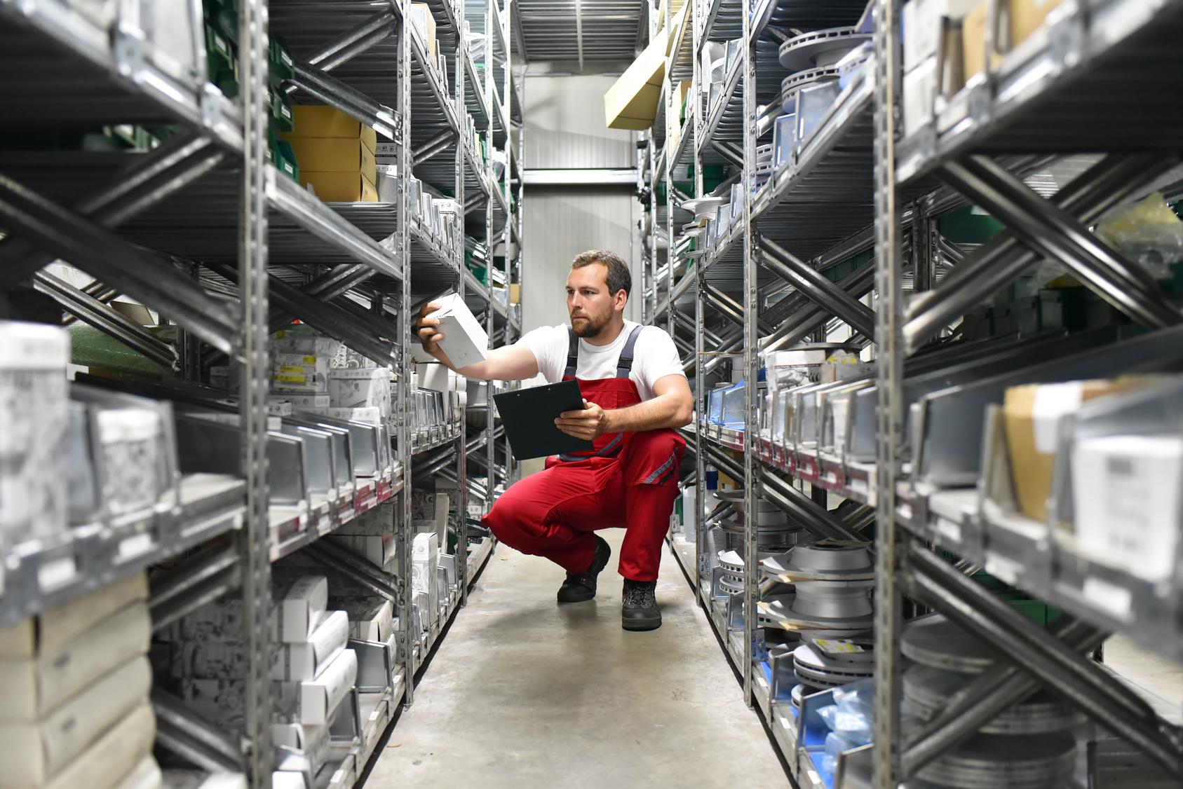 Logistikmeister/in im Warenlager